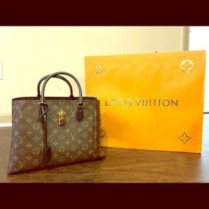 Louis Vuitton Flower Tote Bag